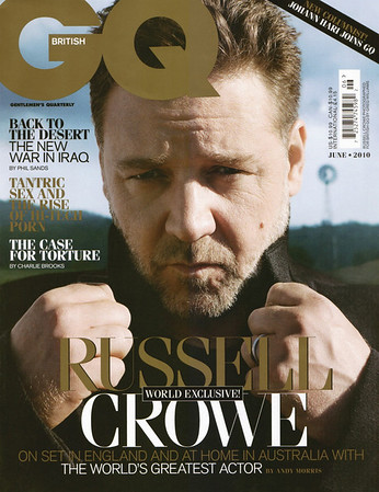 British GQ June 2010 cover