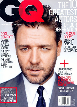 GQ March 2005 cover