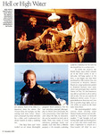 Russell Crowe American Cinematographer November 2003 Master and Commander