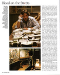 Russell Crowe American Cinematographer December 2007 American Gangster