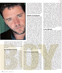 Star Inc. Russell Crowe Janvier 2001