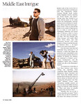 Russell Crowe American Cinematographer October 2008 Body of Lies
