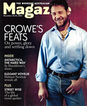 Russell Crowe Weekend Australian Nov. 22-23, 2003
