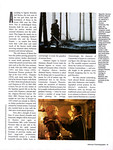 Russell Crowe American Cinematographer May 2000 Gladiator